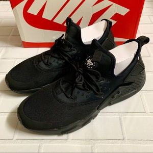 New Men's Nike Air Huarache Drift Black US 13